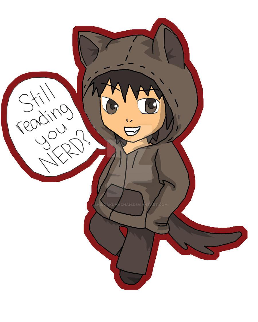 Wolf Hoodie Boy By ShiroAkumaChan On DeviantArt