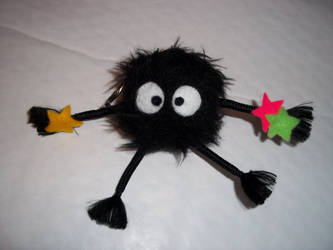 Handmade Soot Sprite by arteclair