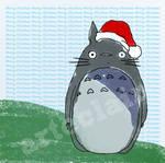 Totoro Christmas card 1