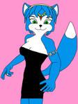 Krystal's Black Mini Dress 7