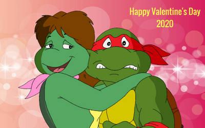 Raph And Mona Lisa's Valentine's Day 2020