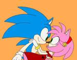 Feliz Cinco De Mayo to Sonic and Amy by CrawfordJenny