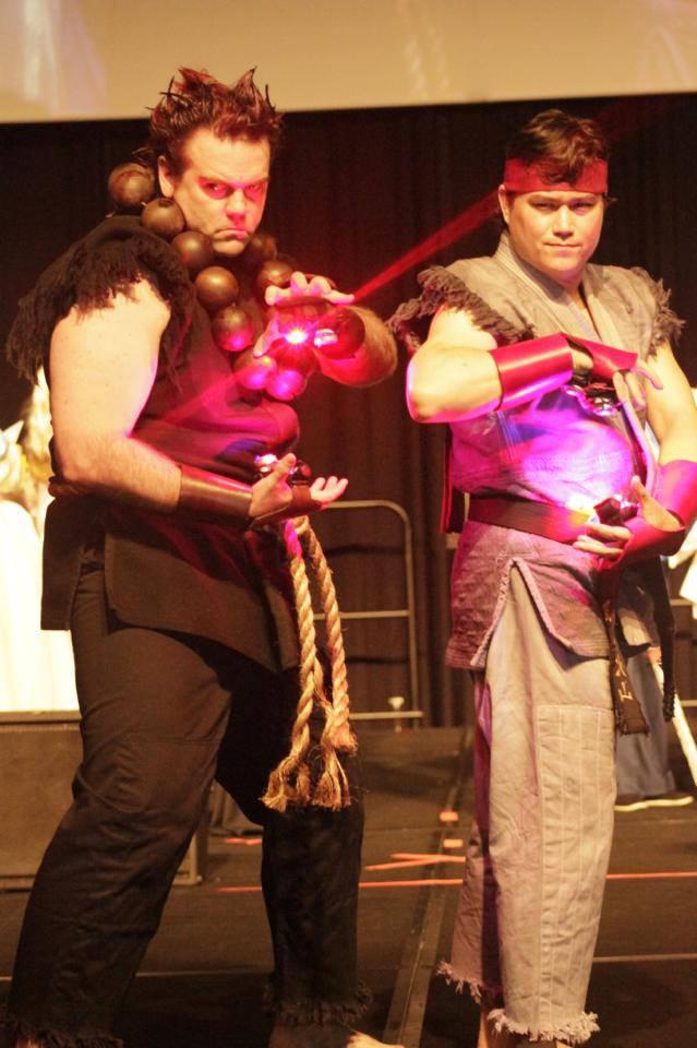 Akuma And Evil Ryu Lighting Up By Chiaroscuro Cosplay On Deviantart