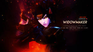 Widowmaker Wallpaper - Overwatch by Gramcyyy