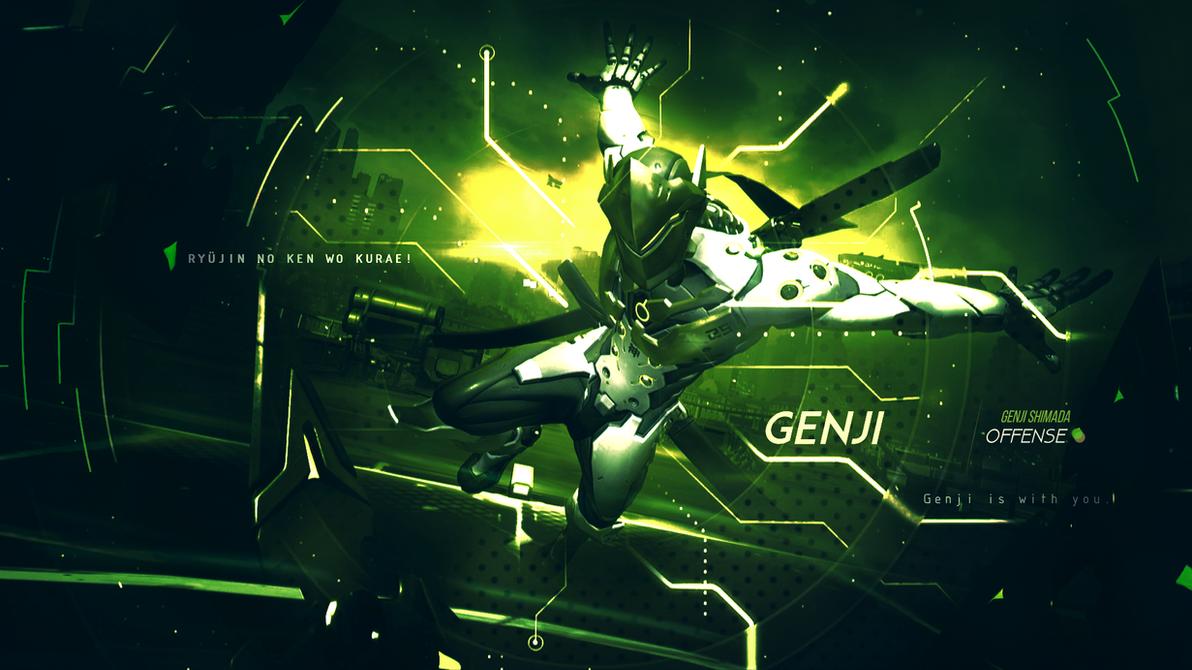 genji wallpaper overwatch by gramcyyy on deviantart
