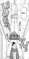 Natsuki upside down XD