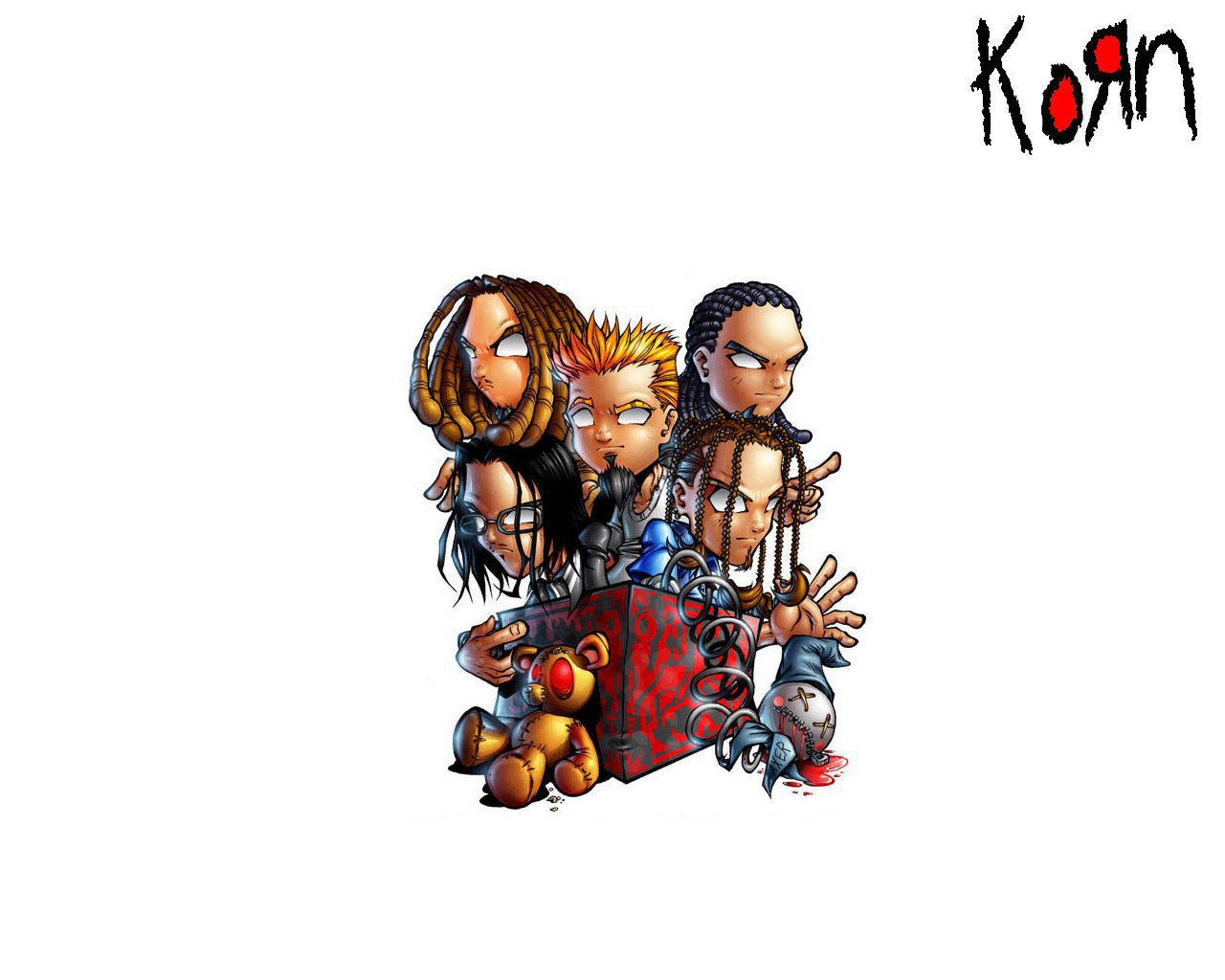 KoRn Wallpaper 2 by Dannius