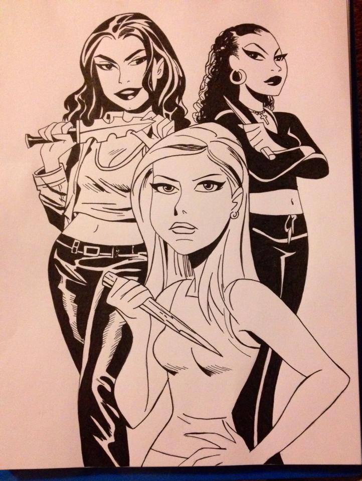 Bruce Timm Buffy by Magic-Yaoi-Mushroom