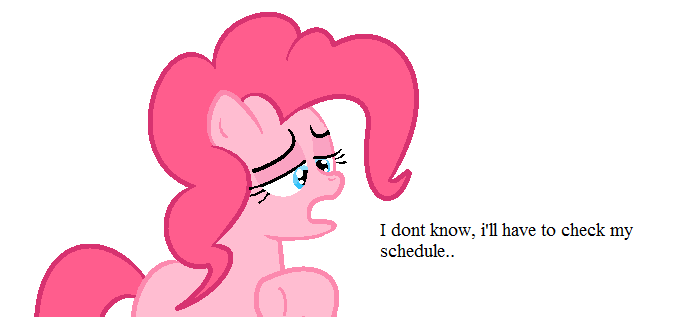 Ill have to check my schedule (MLP) by Lozziej