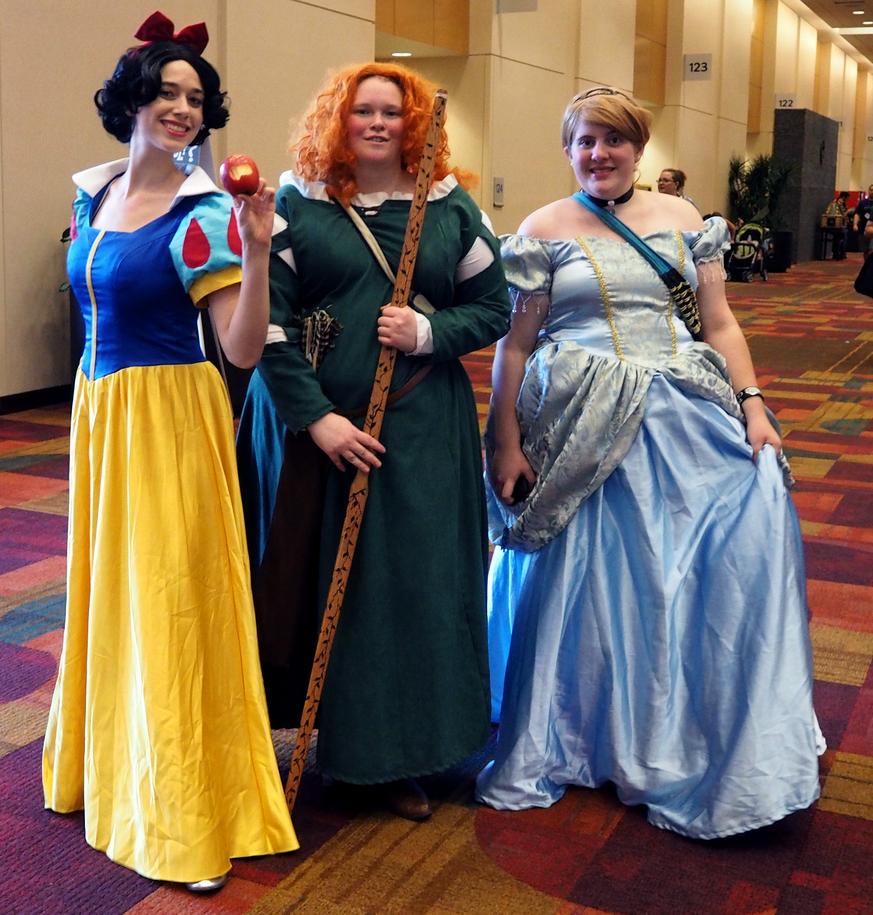 Disney Princess Group Gencon 2014 2 by sarita1893