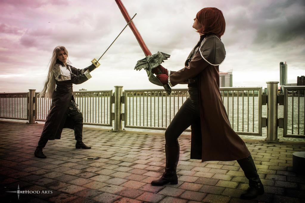 Sephiroth and Genesis Youmacon 2015 by sarita1893