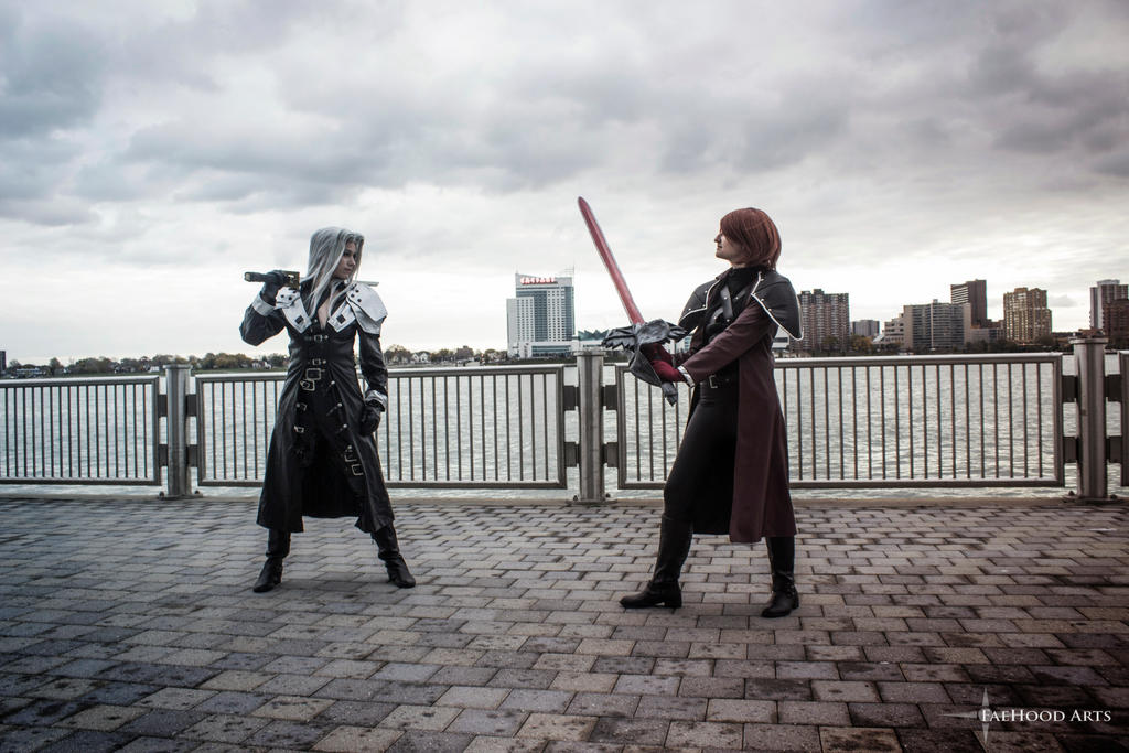 Sephiroth and Genesis Youmacon 2015 Part 2 by sarita1893