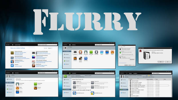 Flurry NF-LF IconPack Inst. by Mr-Ragnarok