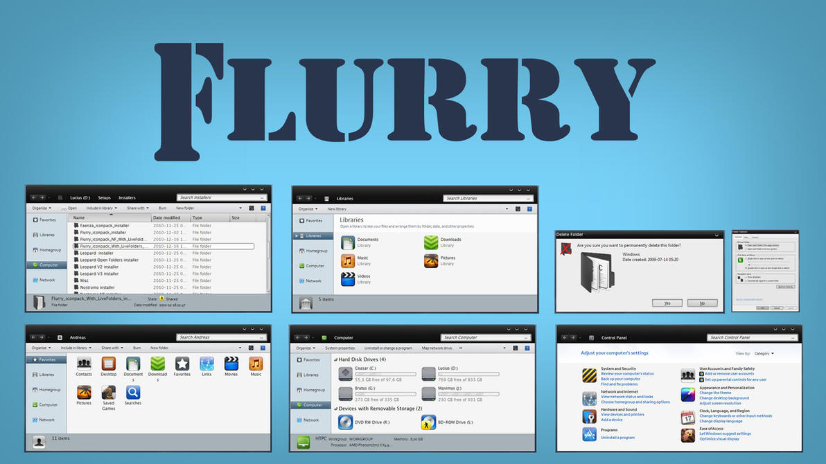 Flurry LF IconPack Inst. by Mr-Ragnarok