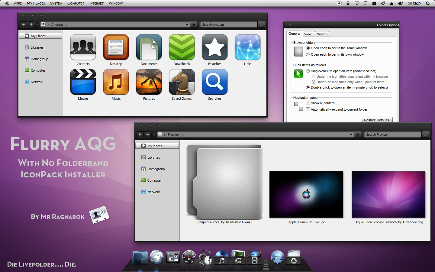 Flurry AQG IconPack Installer by Mr-Ragnarok