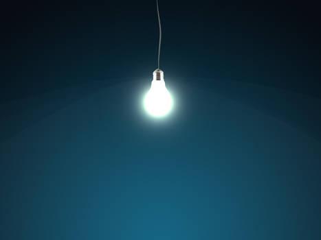 bulb on ur desktop
