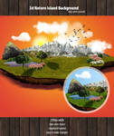 3d Nature Background