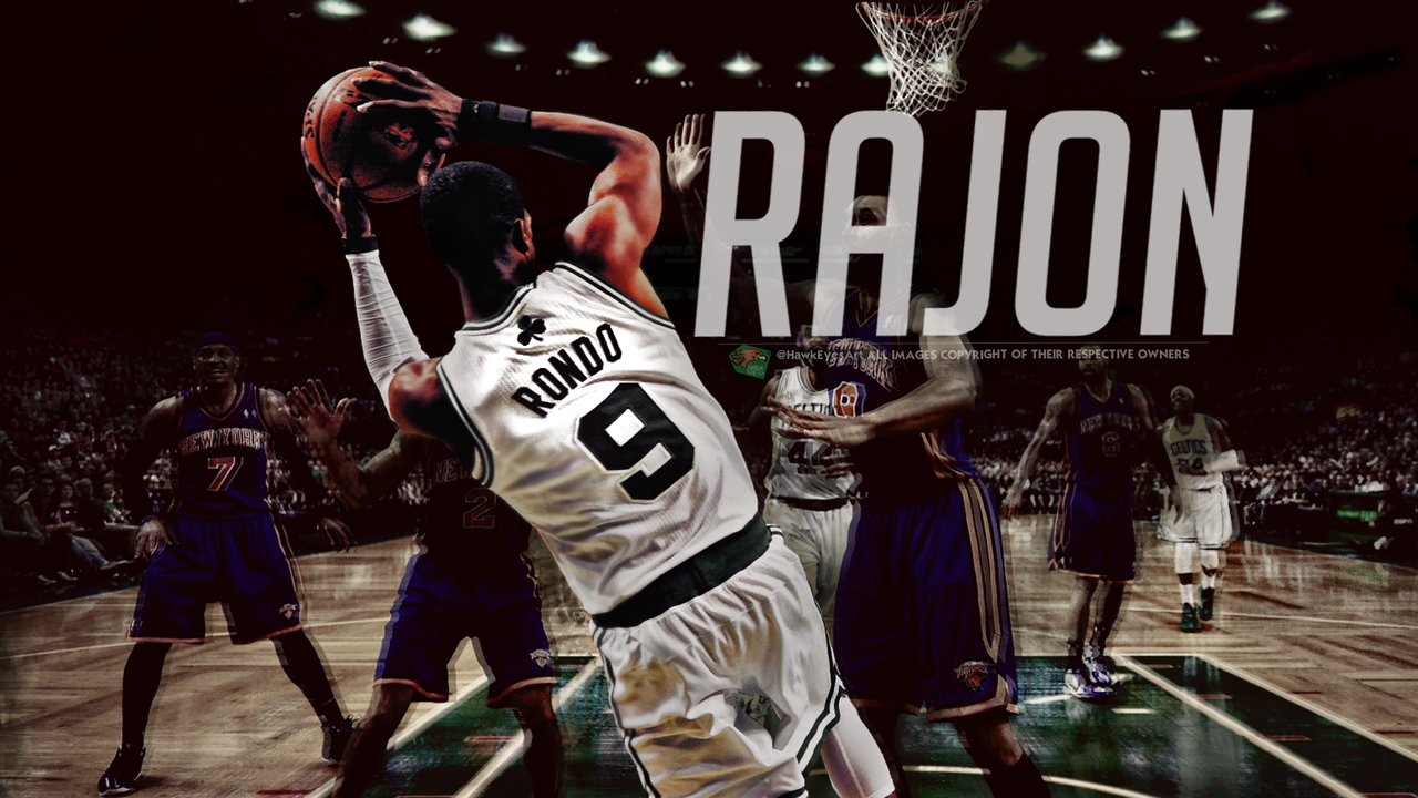 Rajon Rondo 2 By TheHawkeyeStudio On DeviantArt