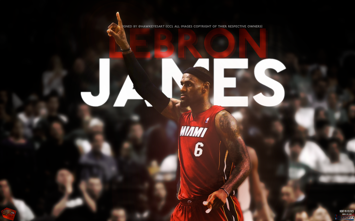 LeBron James 45, Game 6 ECF by TheHawkeyeStudio
