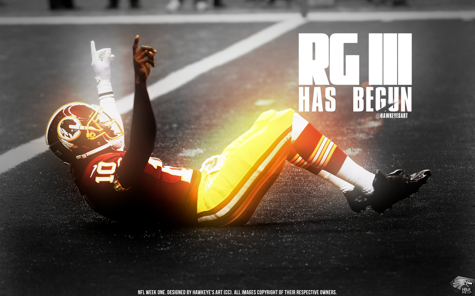 RG III - NFL 2012 by TheHawkeyeStudio