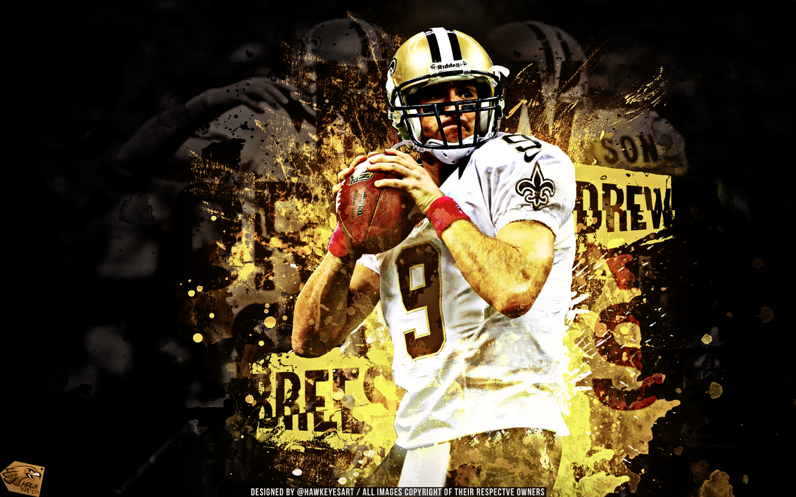 Drew Brees - NFL 2012 by TheHawkeyeStudio