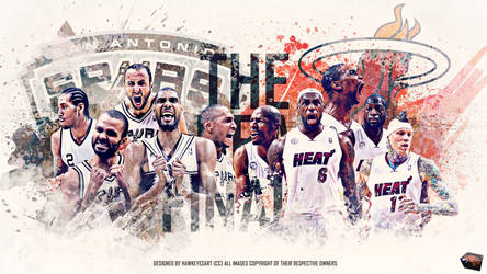 The NBA Finals 2013/14 by TheHawkeyeStudio