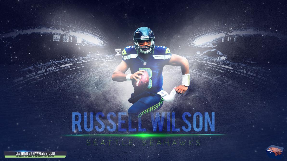 Russell wilson by thehawkeyestudio on deviantart - Seahawks wallpaper russell wilson ...