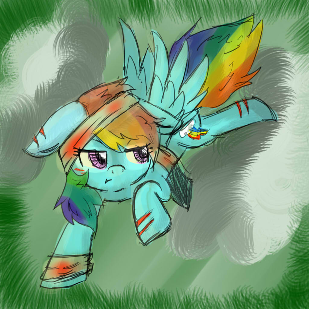 Rainbow Dash by Shahdar