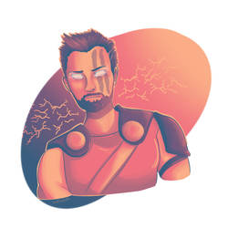 Colour Palette Challenge: THOR by Shahdar