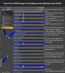 Tutorial: HDR Environments in Daz Studio