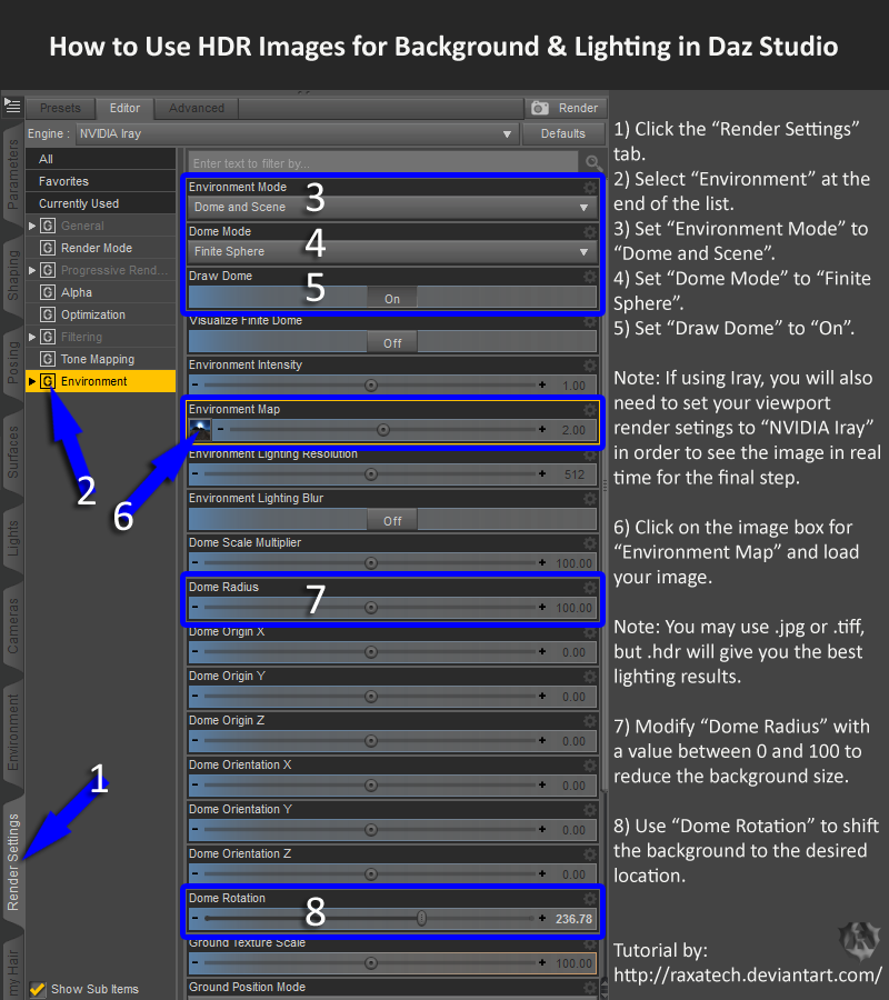 Tutorial hdr environments in daz studio by raxatech on deviantart tutorial hdr environments in daz studio by raxatech altavistaventures Images