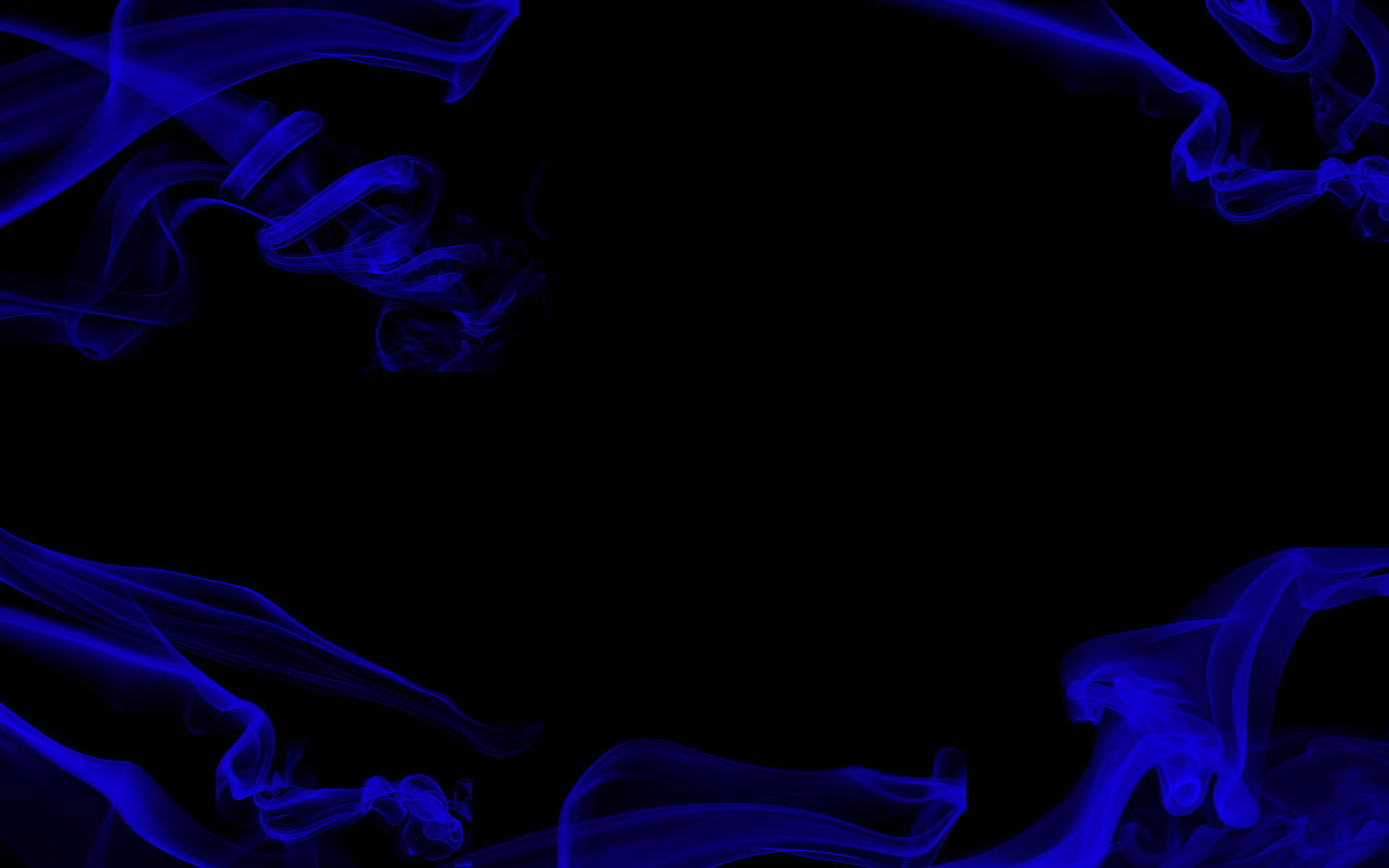 Black and blue smoke background
