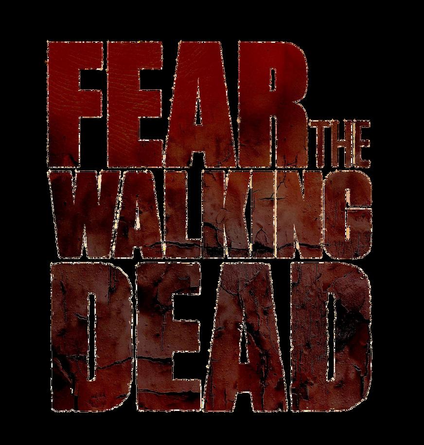 Fear The Walking Dead Logo PNG by Alicegirl77 on DeviantArt