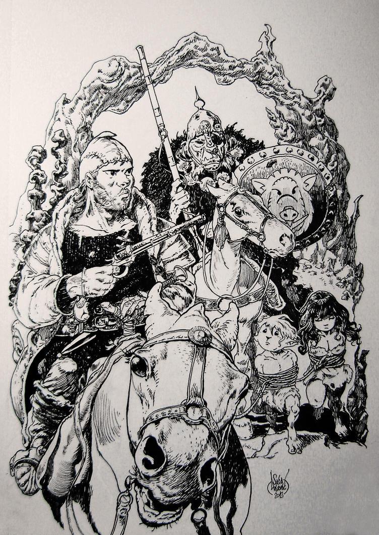 Hunters by Aldagon