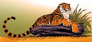 Tiger by Aldagon