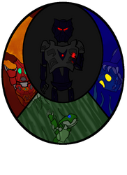 The many deaths of Toa Tuyet by Invader-Naj