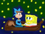 SpongeBob and Sandy - Kiss the Girl by stephgomz04