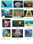 Don Bluth productions portrayed by SpongeBob by stephgomz04