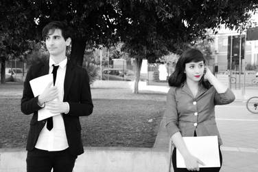 Paperman Cosplay 3 by AshesAndRainbows