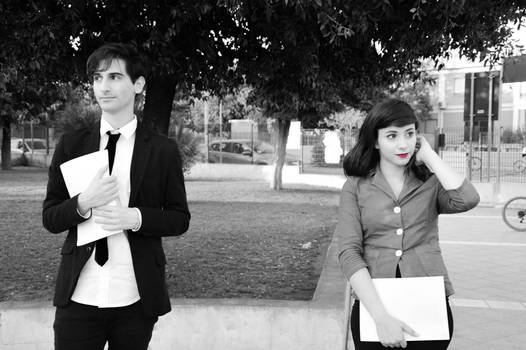Paperman Cosplay 3