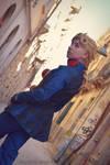 Giorno Giovanna cosplay. JJBA:va