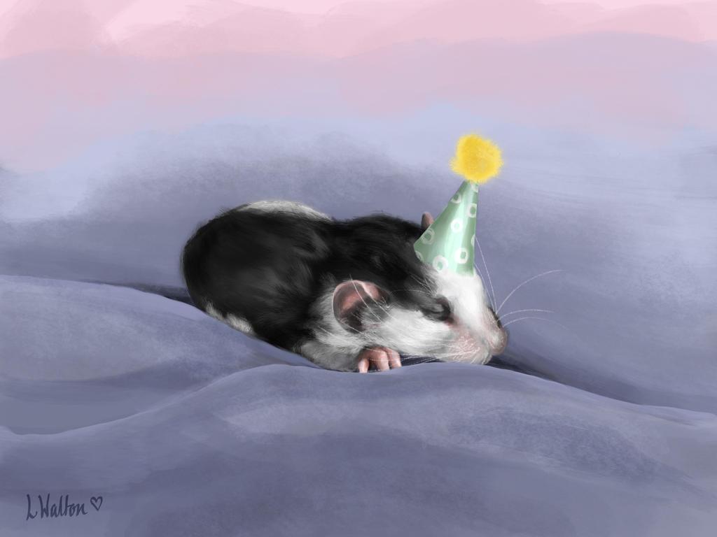 Birthday Girl by Wiggymole