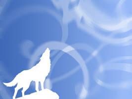 Wallpaper Wolf by hydrachan