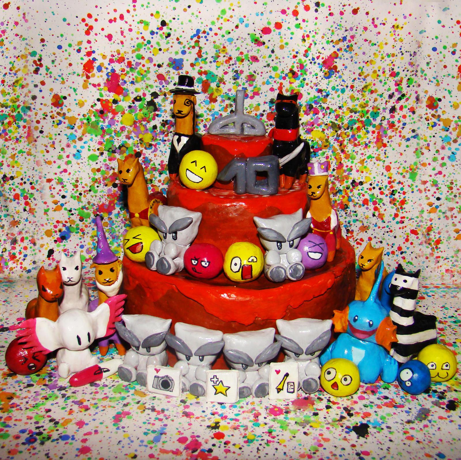 DeviantArt Cake by candymax