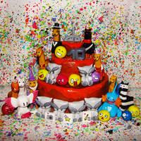 DeviantArt Cake