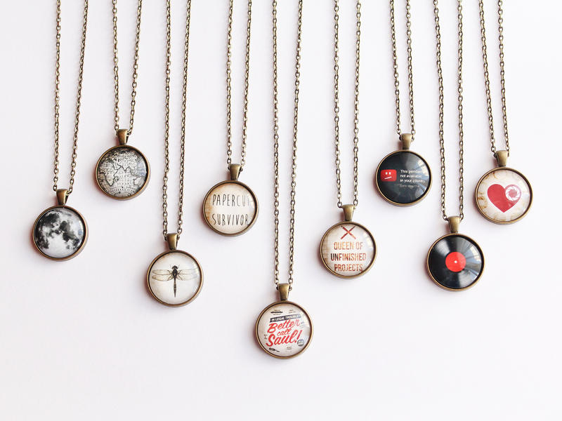 Glass Dome Necklaces- Part 2 by candymax