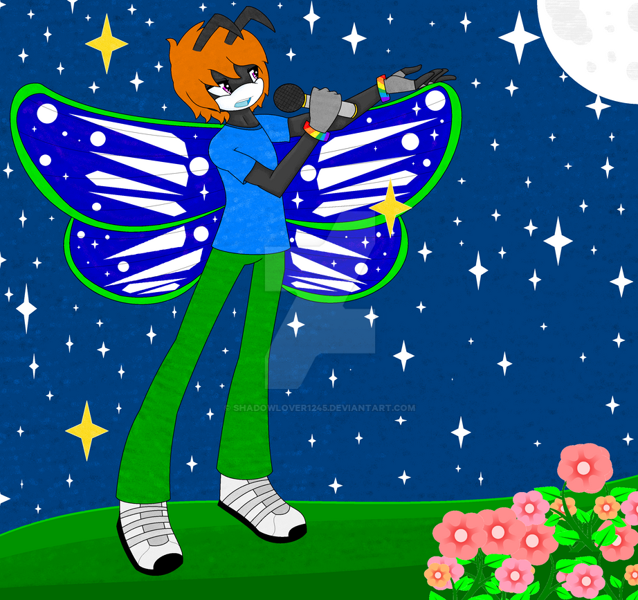 Deon the butterfly by Shadowlover1245