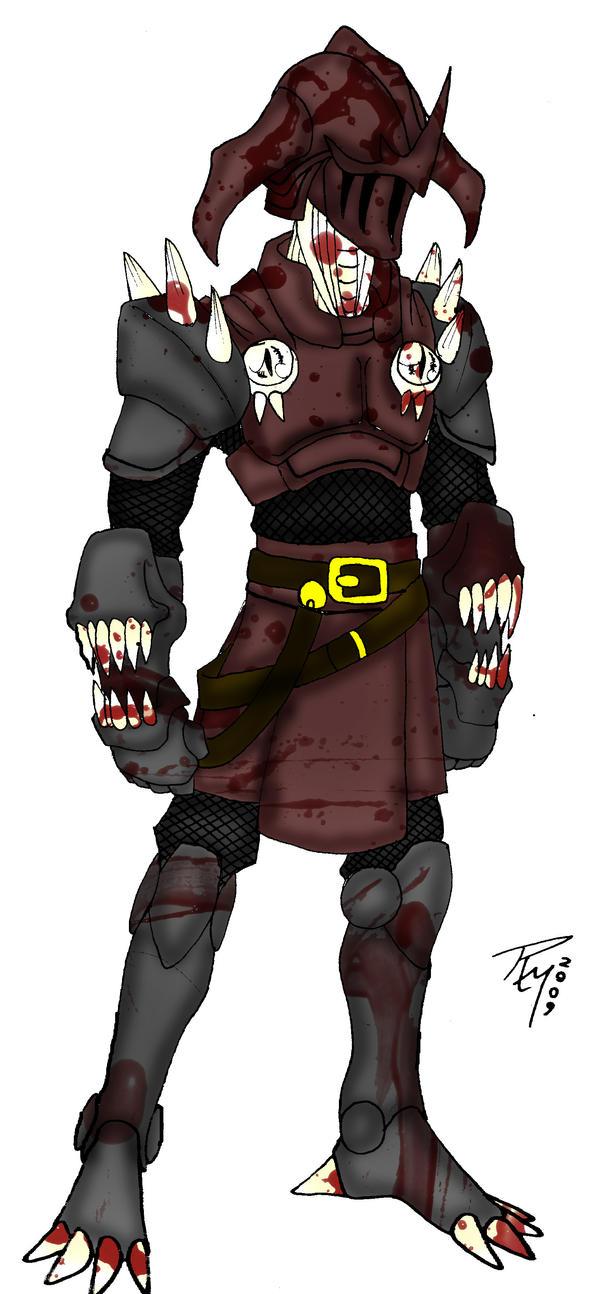 Dread Knight - Coloured by Unforgiven-Rage