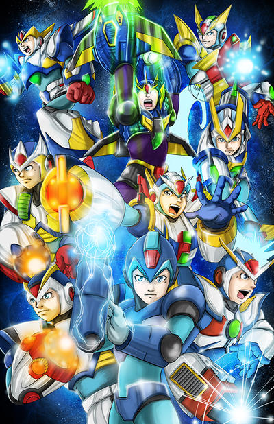 MegamanX copy by hyperbooster