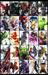 Super Heroes redesign
